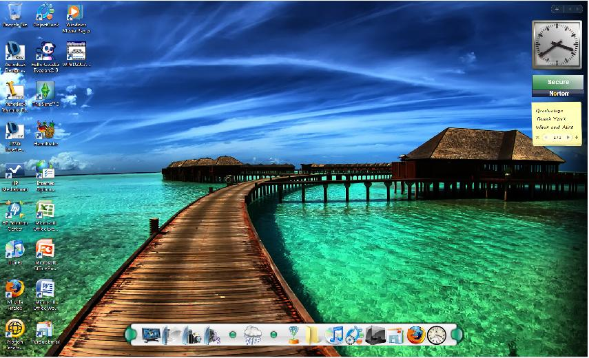 Share your computer desktop - Page 76 - Theme Park Review