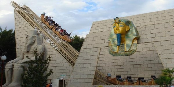 Theme Park Review Photo & Video Update! Parque de Atracciones, Zaragoza, Spain