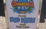 Big Mike visits Cowabunga Bay