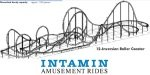 The Intamin 12 Inversion Coaster!