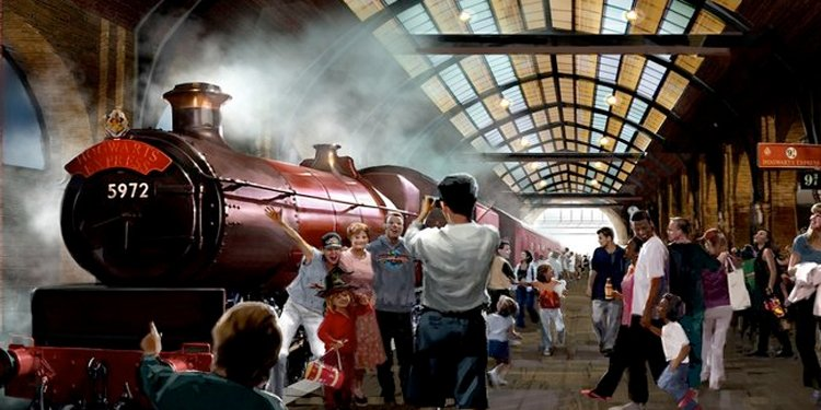 Harry Potter Diagon Alley Reveal