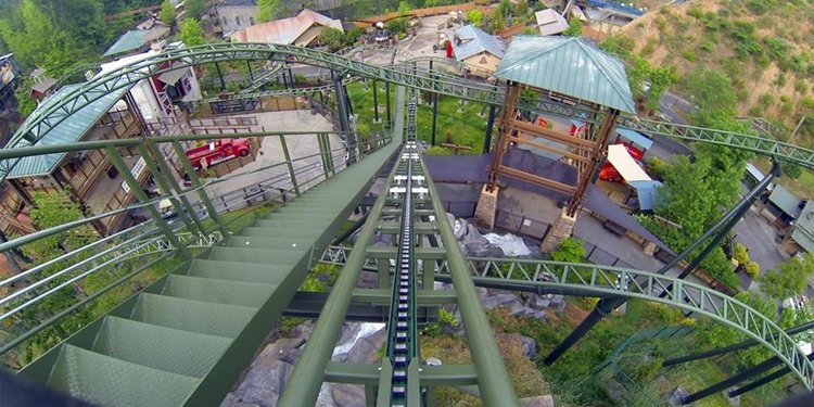 NEW POV Video of FireChaser Express!
