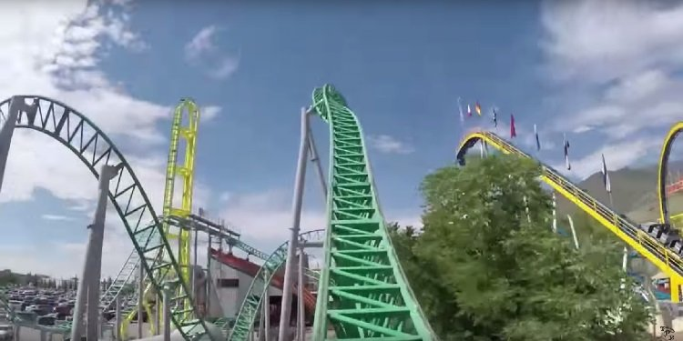 NEW POV Video of Wicked at Lagoon!