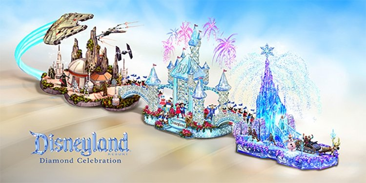 Disneyland's Rose Parade Float!