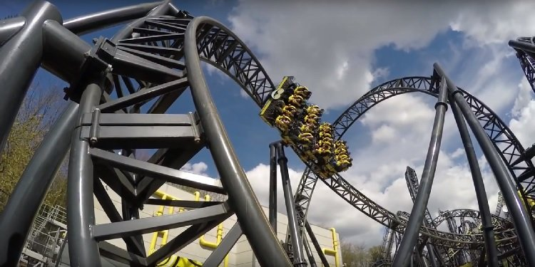 NEW Off-Ride Video of Alton Towers' Smiler!
