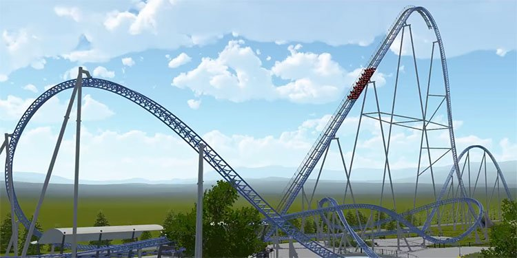 New Energylandia Intamin Coaster!