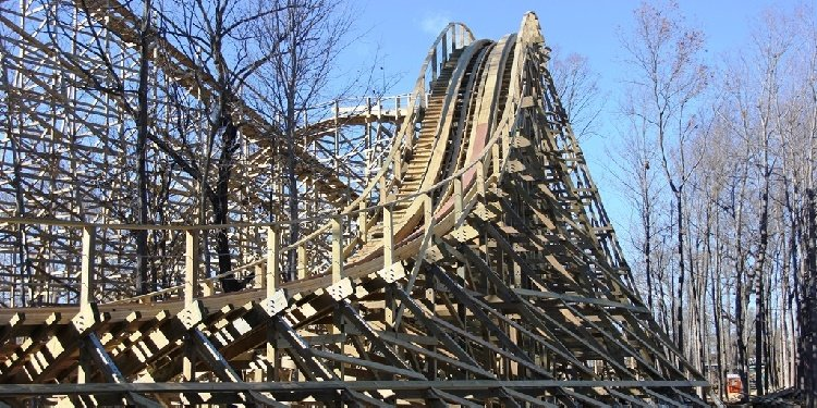 Mystic Timbers at Kings Island, Ohio!
