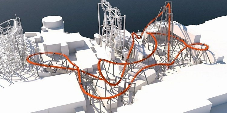 Grona Lund Files Plans to Build B&M Inverted Coaster!