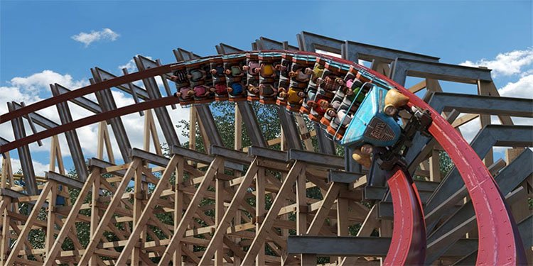 Twisted Timbers coming to Kings Dominion!