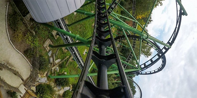 Bayern Park Launched Coaster POV!