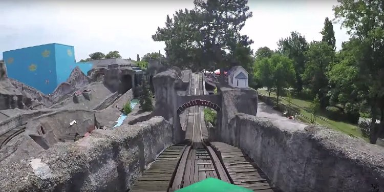 POV Video of Weiner Prater's Scenic Railway!