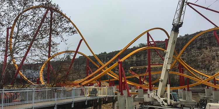 Fiesta Texas Construction Update!