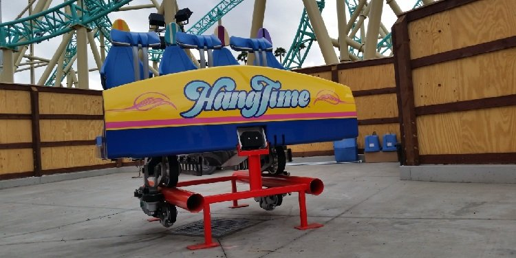 HangTime Construction Preview at Knott's!