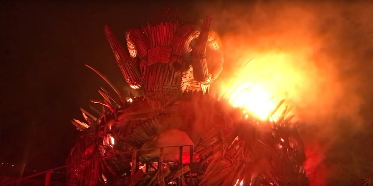 Media Night for Alton Towers' Wicker Man!