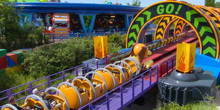 Slinky Dog Dash Onride Video!