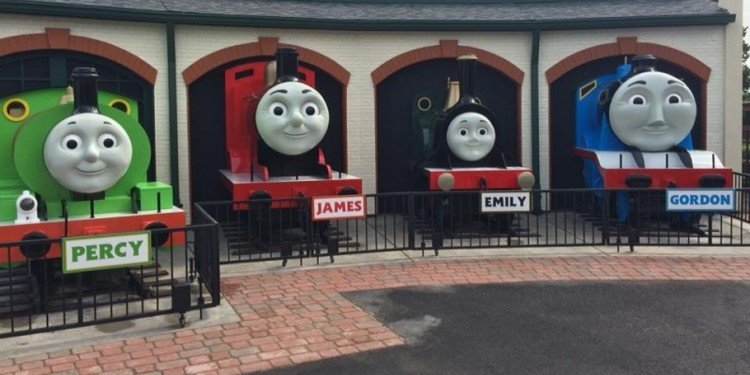 Grand Opening of Kennywood's Thomas Town!