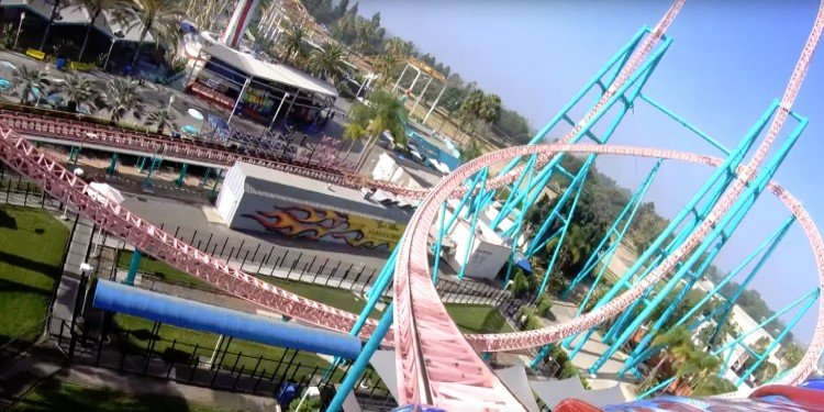 POV Video of Knott's Xcelerator!